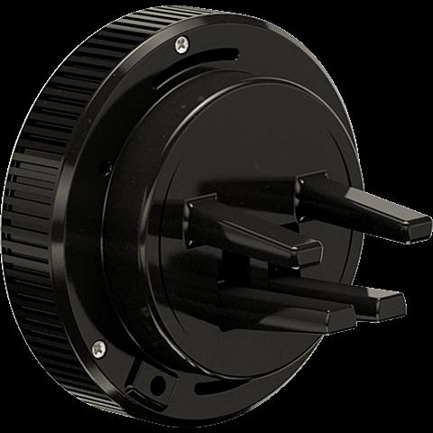 TECFLOWER andi be free Induktiver Kfz-Lader-Halter 15W Schwarz 99928237 hinten