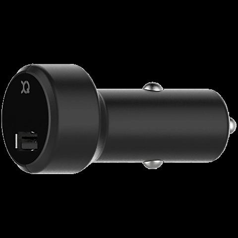 xqisit Kfz-Ladegerät 2,4A Single USB 99928165 vorne