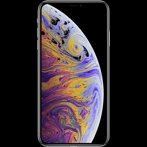 Apple iPhone XS Max Silber Vorne und Hinten