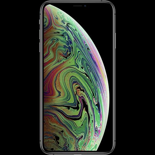 Apple iPhone XS Max Space Grau Vorne und Hinten