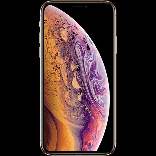 Apple iPhone XS Gold Vorne und Hinten