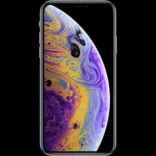 Apple iPhone XS Silber Vorne und Hinten
