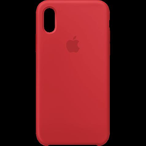 Apple Silikon Case iPhone XS - Product Red 99928442 hero