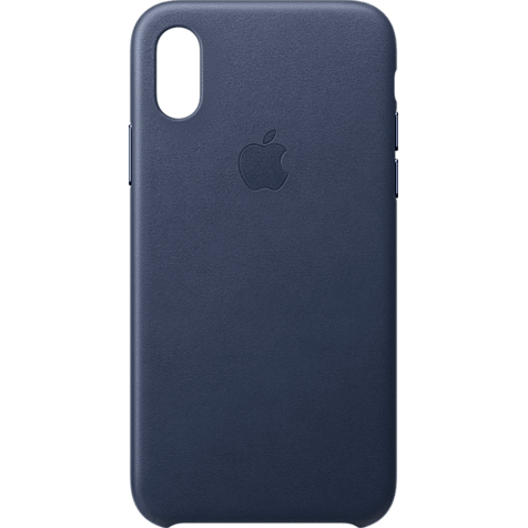 Apple Leder Case iPhone XS - Mitternachtsblau 99928445 hero