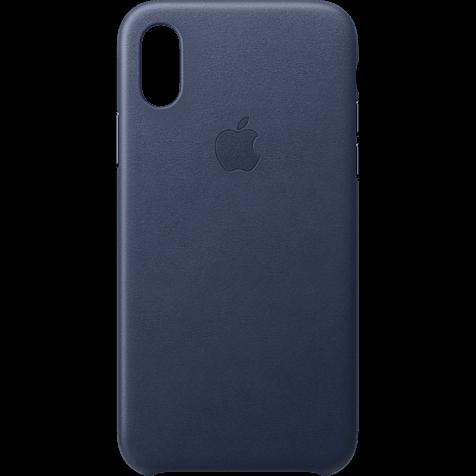 Apple Leder Case iPhone XS - Mitternachtsblau 99928445 hero