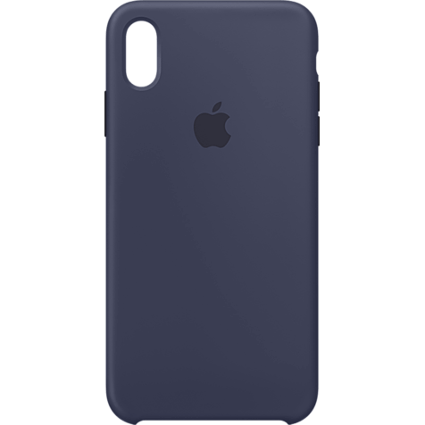 Apple Silikon Case iPhone XS Max - Mitternachtsblau 99928479 hero