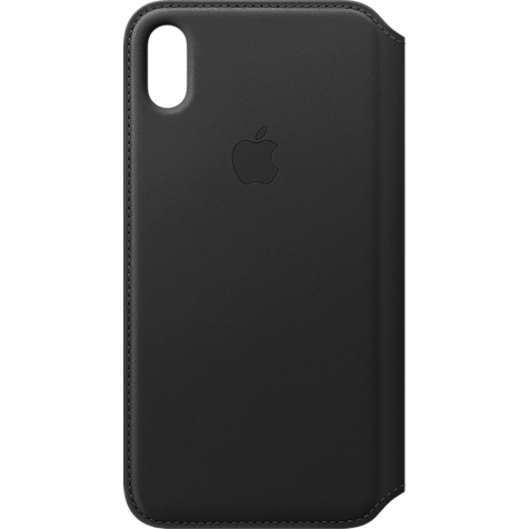 Apple Leder Folio Case iPhone XS Max - Schwarz 99928485 hero