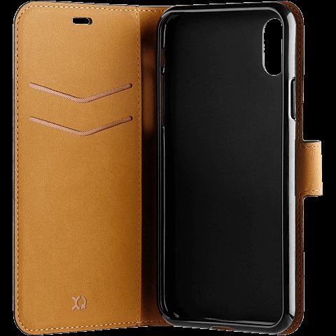 xqisit Slim Wallet Selection Apple iPhone XS Max - Schwarz 99928324 seitlich