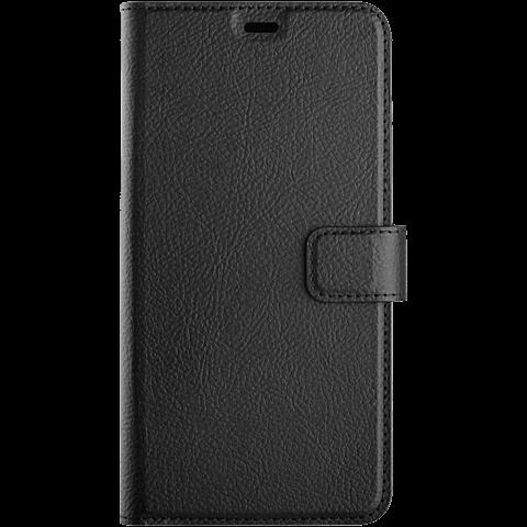 xqisit Slim Wallet Selection Apple iPhone XS Max - Schwarz 99928324 vorne