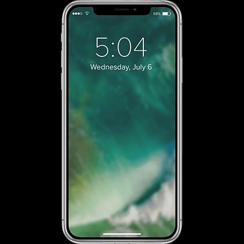 xqisit Flex Case Apple iPhone XS Max - Transparent 99928336 hinten