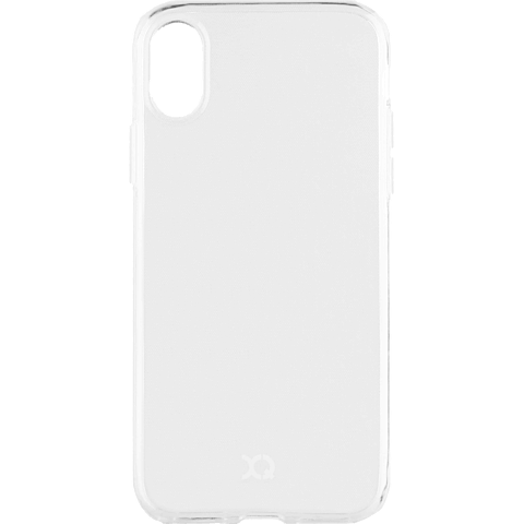 xqisit Flex Case Apple iPhone XS Max - Transparent 99928336 vorne