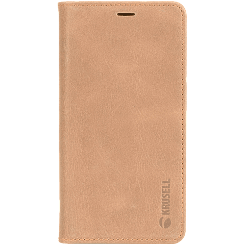 Krusell Sunne 4 Card Folio Wallet Apple iPhone XS Max - Nude 99928342 vorne