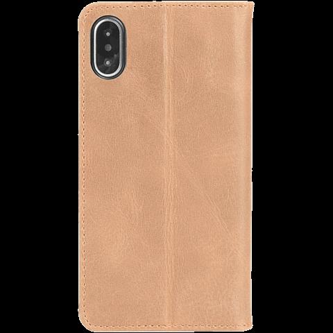 Krusell Sunne 4 Card Folio Wallet Apple iPhone XS Max - Nude 99928342 hinten
