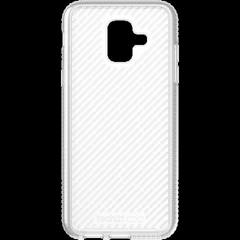 Tech21 Evo Shell Hülle Samsung Galaxy A6 - Transparent 99928296 vorne