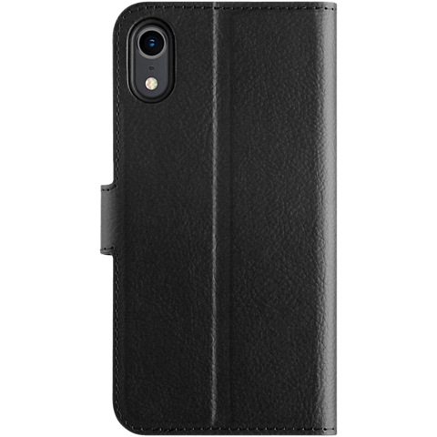xqisit Slim Wallet Selection Apple iPhone XR - Schwarz 99928323 hinten