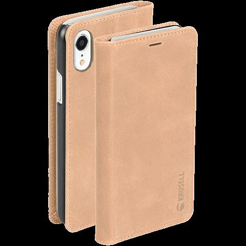 Krusell Sunne 4 Card Folio Wallet Apple iPhone XR - Nude 99928340 seitlich