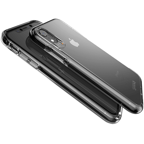 gear4 Piccadilly Case Apple iPhone XR - Schwarz 99928343 seitlich