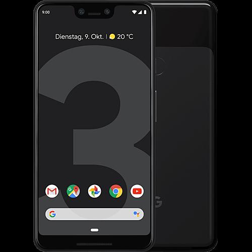Google Pixel 3 XL Just Black Vorne und Hinten