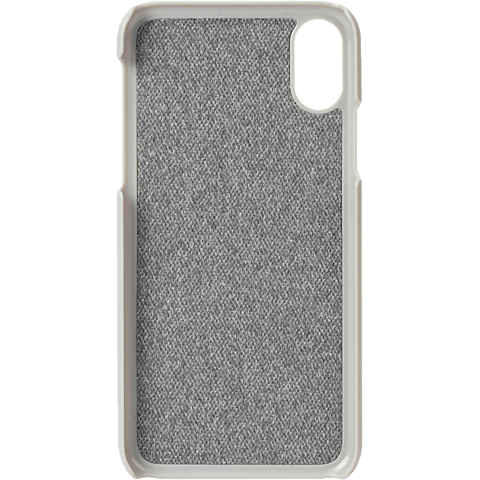 Krusell Tanum Cover Apple iPhone XS Max - Grey Nude 99928358 hinten