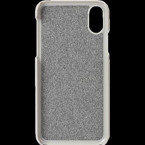 Krusell Tanum Cover Apple iPhone XR - Grey Nude 99928356 hinten