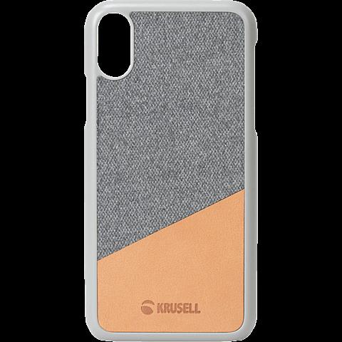 Krusell Tanum Cover Apple iPhone XR - Grey Nude 99928356 vorne