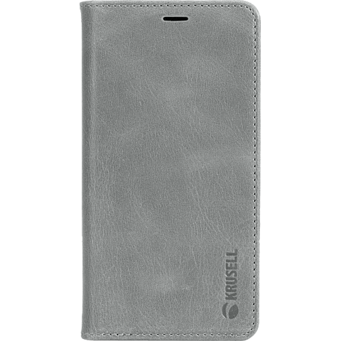 Krusell Sunne 4 Card Folio Wallet Apple iPhone XR - Grau 99928361 vorne