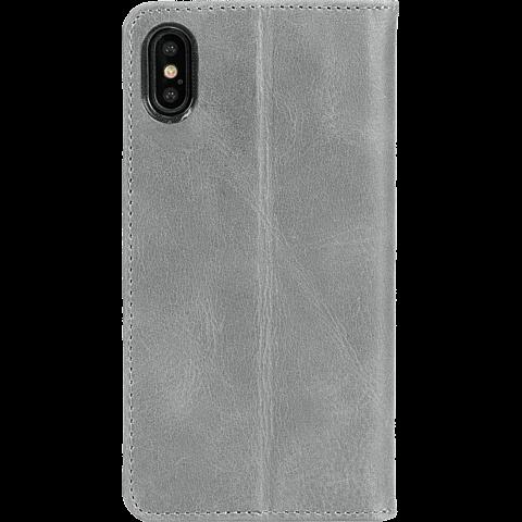 Krusell Sunne 4 Card Folio Wallet Apple iPhone XS Max - Grau 99928367 hinten