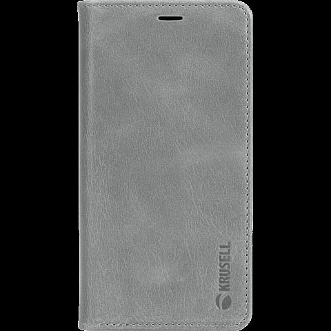 Krusell Sunne 4 Card Folio Wallet Apple iPhone XS Max - Grau 99928367 vorne