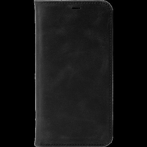 Krusell Sunne 4 Card Folio Wallet Apple iPhone XS - Schwarz 99928359 vorne