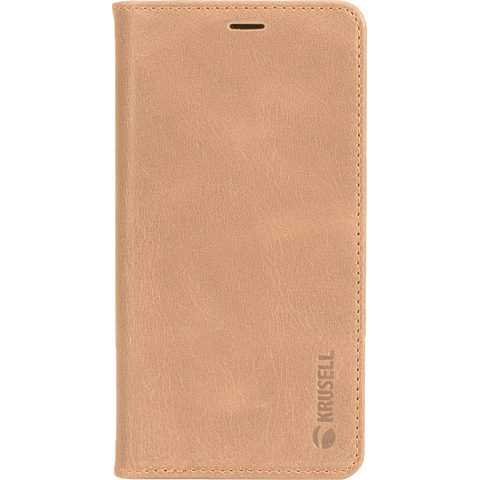 Krusell Sunne 4 Card Folio Wallet Apple iPhone XS - Nude 99928360 vorne