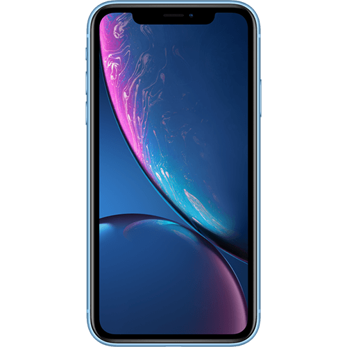 Apple iPhone XR Blau Vorne