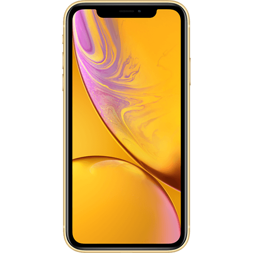 Apple iPhone XR Gelb Vorne