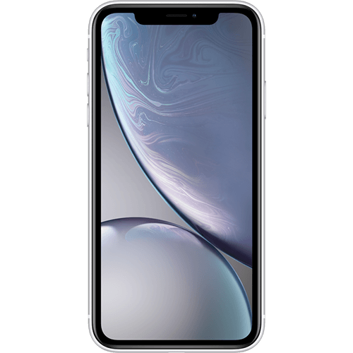 Apple iPhone XR Weiß Vorne
