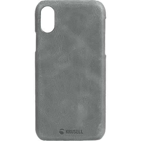 Krusell Sunne Cover Apple iPhone XS Max - Grau 99928335 vorne