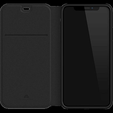 Black Rock Statement Booklet Apple iPhone XS - Schwarz 99928299 hinten