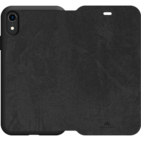 Black Rock Statement Booklet Apple iPhone XR - Schwarz 99928302 hinten