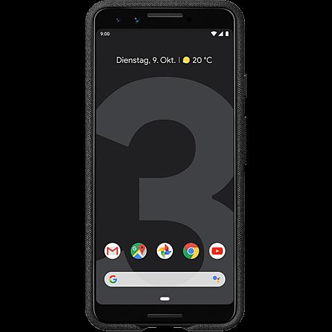 Google Stoff Case Pixel 3 - Graphit 99928503 hinten