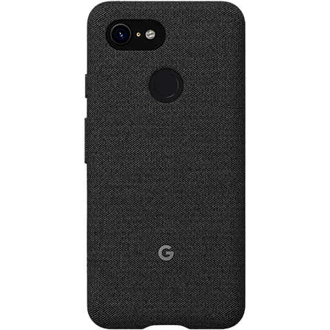Google Stoff Case Pixel 3 - Graphit 99928503 vorne