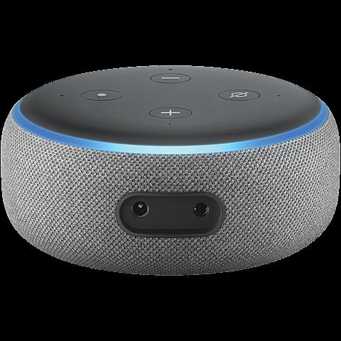 Amazon Echo Dot (3. Gen.) -  Hellgrau 99928597 hinten