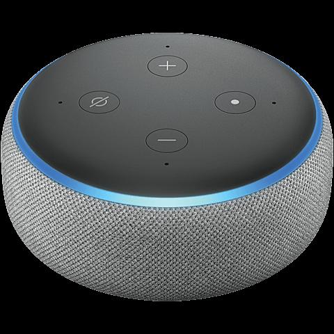 Amazon Echo Dot (3. Gen.) -  Hellgrau 99928597 vorne