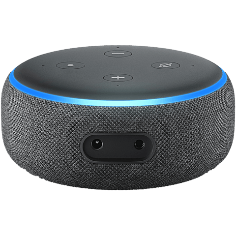 Amazon Echo Dot (3. Gen.) -  Anthrazit 99928598 hinten