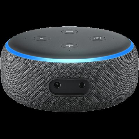 Amazon Echo Dot (3. Gen.) -  Anthrazit 99928598 hinten