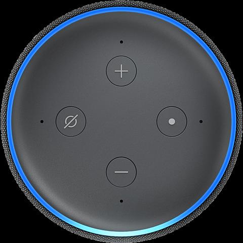 Amazon Echo Dot (3. Gen.) -  Anthrazit 99928598 seitlich