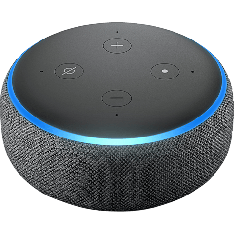 Amazon Echo Dot (3. Gen.) -  Anthrazit 99928598 vorne