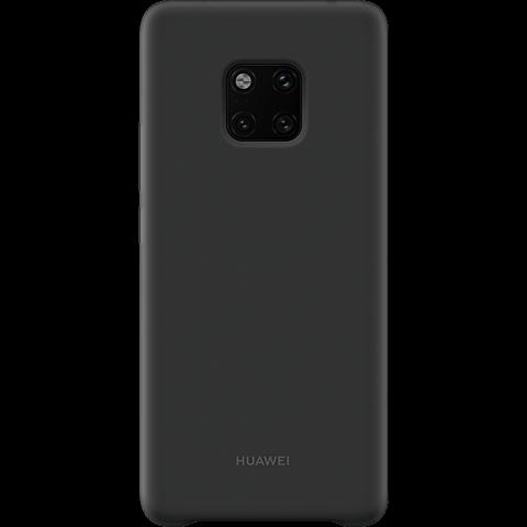 HUAWEI Silicone Car Case Mate20 Pro - Schwarz 99928631 vorne