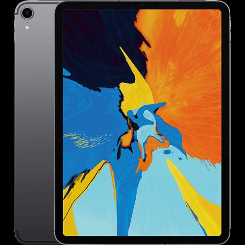 Apple 11'' iPad Pro WiFi und Cellular Spacegrau Vorne und Hinten