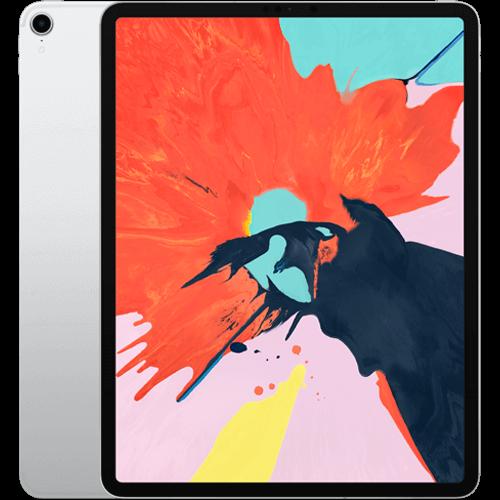 Apple 12,9'' iPad Pro (3. Generation) WiFi und Cellular Silber Vorne und Hinten