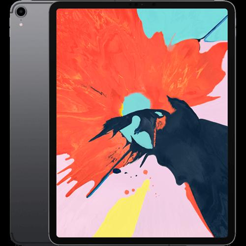 Apple 12,9'' iPad Pro (3. Generation) WiFi und Cellular Spacegrau Vorne und Hinten