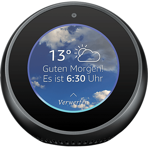 Amazon Echo Spot - Schwarz 99928602 hero