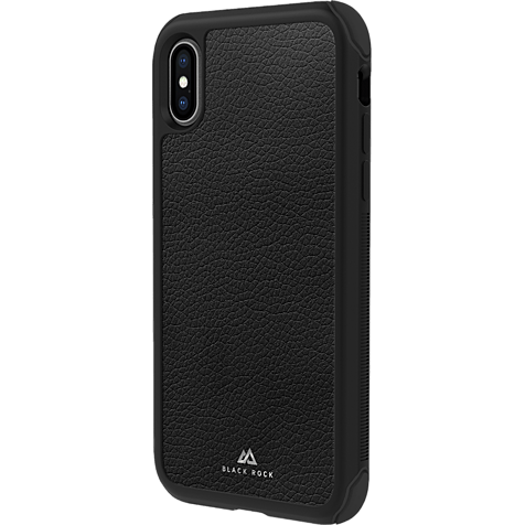 Black Rock Robust Real Leather Case Apple iPhone XR - Schwarz 99928301 hero